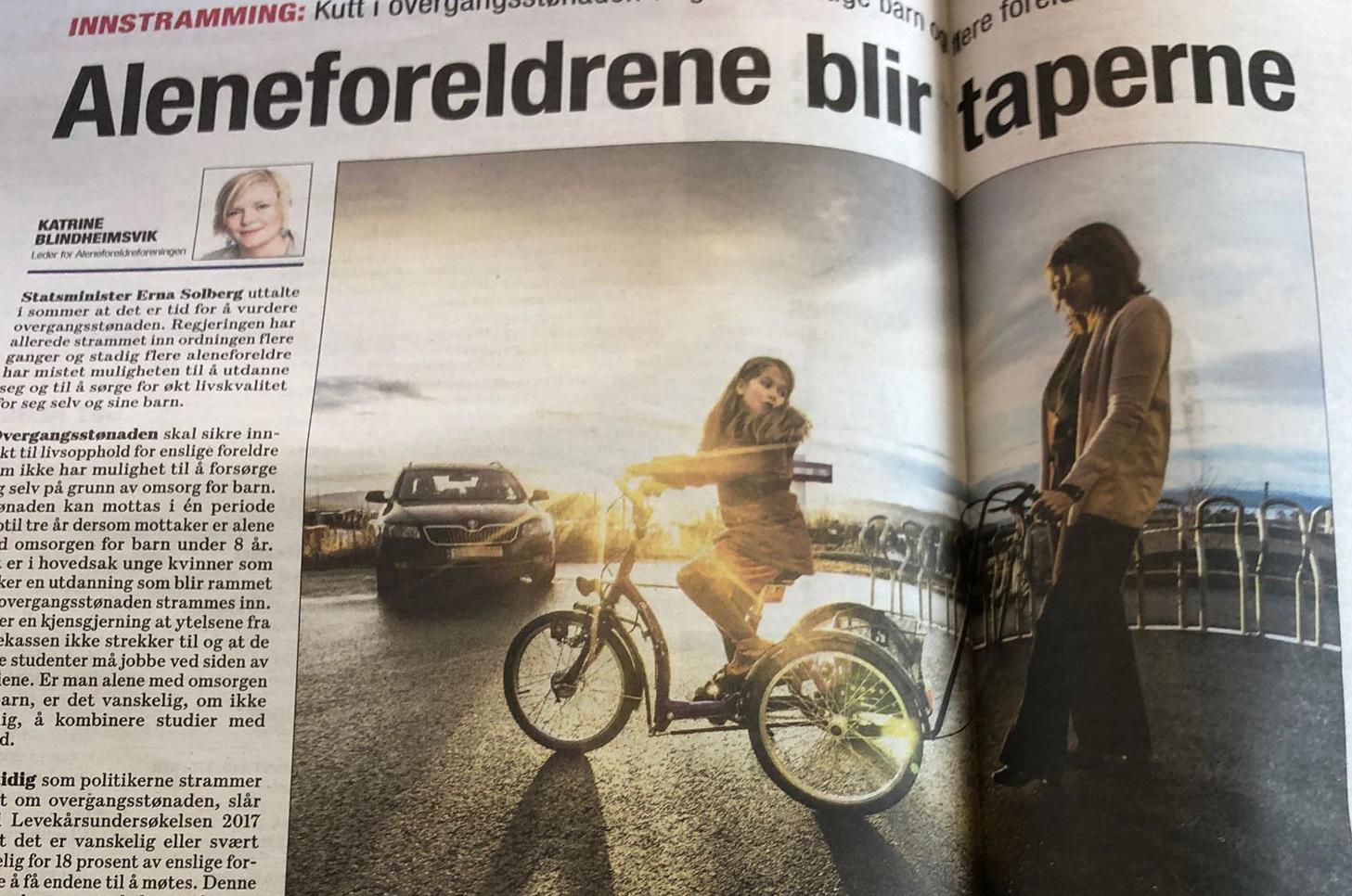 Faksimile fra Dagsavisen 10. oktober 2018.